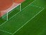 Par de Rede para Trave de Gol Futebol de Campo Sob Medida Fio 8mm Seda - Imagem 4