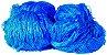 Rede de Proteção Esportiva 15x30m Fio 2 Malha 12cm Azul - Imagem 1