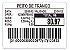 Etiqueta Térmica 60x40mm 36 Rolos Para Combo Wind Super UPX - Imagem 1