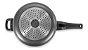 Panela De Pressão Indução Antiaderente 4,5 L Preta Multiflon - Imagem 3
