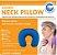Neck Pillow Grande com botão - Azul - Imagem 1