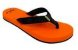 Sandalia Fly Feet orange racing  37/38 masculino  - Imagem 3