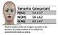 MASCARA FACIAL ABERTA NA ORELHA CHOCOLATE  M - Imagem 4