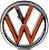 Emblema Volkswagen da Grade Gol/Voyage/Saveiro G7  - Imagem 2