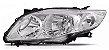 Farol Principal Corolla 2008/2009/2010 Lado Esquerdo TYC - Imagem 1
