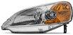 Farol Principal Civic 2001/2002/2003 Lado Esquerdo com pisca âmbar Importado - Imagem 1