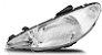 Farol Principal 206 1998/1999/2000/2001/2002/2003 Lado esquerdo DEPO Simples - Imagem 1