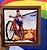 Cerâmica Emoldurada: Menino na Bicicleta - Imagem 1