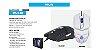 Mouse Gamer Hoopson MS-030, LED, 6 Botões, 2400DPI, Branco - MS-030 B - Imagem 2