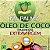 Óleo De Coco Extra virgem (100% Orgânico por Moagem a Frio) 4 Potes 500ml cada - Totalmente sem Sabor e Cheiro. - Imagem 2
