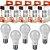 Kit com 5 Lâmpadas Bulbo Led Branco com 11W 6500K - 2 Anos Garantia - Imagem 1