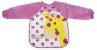 Babador Cor de Rosa com Manga tema Girafa, Kababy - Imagem 3