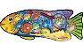 Jogo Pescaria Pega Peixe com Vara e Redinha para Banheira, ArtBrink - Imagem 1