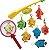 Jogo Pescaria Pega Peixe com Vara e Redinha para Banheira, ArtBrink - Imagem 3