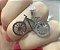 Colar de Bicicleta Pigente de Bike Banhado em Ródio Branco - Imagem 1