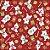 Tecido Tricoline Urso Polar V2152-6167 - Natal - Imagem 1