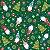 Tecido Tricoline Elfos 7120 - Natal - Imagem 1