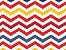 Tecido tricoline chevron colorido - Imagem 1