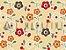 Tecido Tricoline Florzinhas Coloridas - Imagem 2