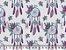 Tecido Tricoline Mandalas e Flores - Imagem 1