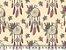 Tecido Tricoline Mandalas e Flores - Imagem 2