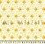 Tecido Tricoline Girafa Estrelinhas - Imagem 1