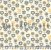 Tecido Tricoline Flores Coloridas - Imagem 1