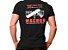 Camiseta Militar Estampada Magnum Preta - Atack - Imagem 1