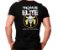 Camiseta Militar Estampada Tropa De Elite Preta - Atack - Imagem 1