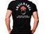 Camiseta Militar Estampada Artilharia Preta - Atack - Imagem 1