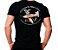 Camiseta Militar Estampada Ninho Das Águias Brasileiras Preta - Atack - Imagem 1