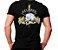Camiseta Militar Estampada Pelopes Preta - Atack - Imagem 1
