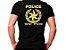 Camiseta Militar Estampada Police Preta - Atack - Imagem 1