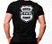 Camiseta Militar Estampada Estado Civil Solteiro Preta - Atack - Imagem 1