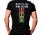 Camiseta Militar Estampada Rotina Do Militar Festa Preta - Atack - Imagem 1