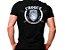 Camiseta Militar Estampada Choque Preta - Atack - Imagem 1