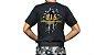 Camiseta Militar Estampada G.I.S. Preta - Atack - Imagem 1