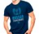 Camiseta Militar Estampada Mossad Azul - Atack - Imagem 1