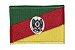 Patch Bordado Com Fecho De Contato Bandeira Rio Grande Do Sul - Imagem 1