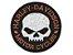 Patch Bordado Com Fecho De Contato Harley Davidson Ii - Imagem 1