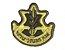 Patch Bordado Com Fecho De Contato Estrela De Israel - Imagem 1