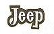 Patch Bordado Com Fecho De Contato Jeep - Imagem 1