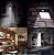 Luminária 20 LEDs Arandela Solar Externa De Parede Sensor de Presença - Imagem 5