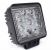 Farol de Milha LED Quadrado Universal 27w 12v - Imagem 1