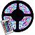 Fita de LED RGB 5050 5m Com Controle Fonte 3A - Imagem 2