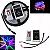 Fita de LED RGB 6803 5m Com Controle Fonte 3A 133 Efeitos - Imagem 2