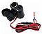 Carregador Para Moto Com Tomada USB e Acendedor de Cigarro - Imagem 2
