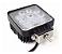 Kit 3 Farol de Milha LED Quadrado Universal 27w 12v - Imagem 3