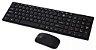 Teclado e Mouse Sem Fio Sensor Óptico Wireless PC e iOS - Imagem 2