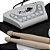 Bateria Eletrônica Musical Em Silicone Dobrável - 2 Baquetas - Imagem 3